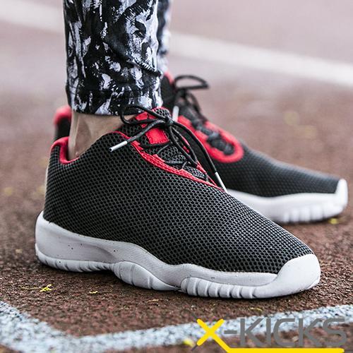 Air Jordan Future low 乔丹未来低帮黑红女鞋 _