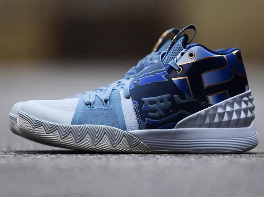 NikeKyrieS1Hybrid欧文3合体巅峰篮球鞋用超轻粘土做保龄球图片