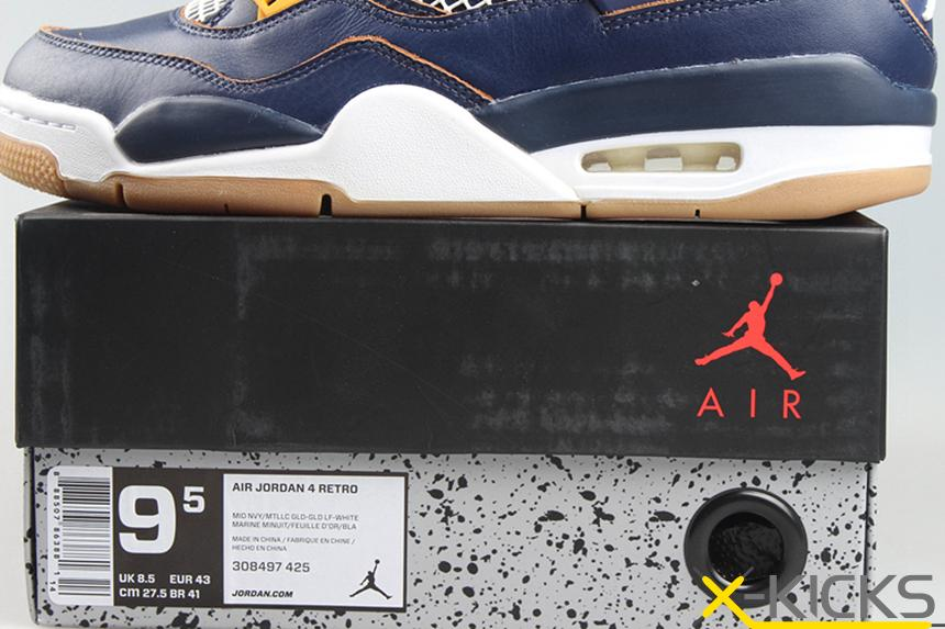 Air Jordan 4 Dunk From Above 蓝黄 情侣款 特价