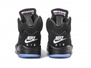 Air Jordan 5 OG Metallic Black 黑银 情侣款 特价