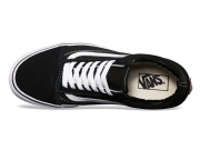 Vans old skool os 黑白帆布