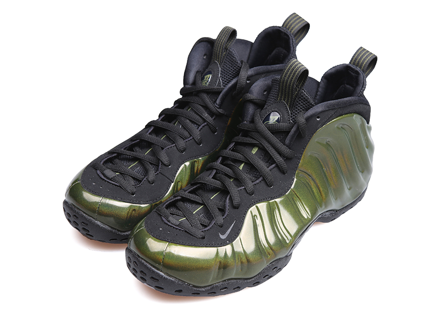 Nike Air Foamposite One Legion Green 全息炫彩军绿泡 特价