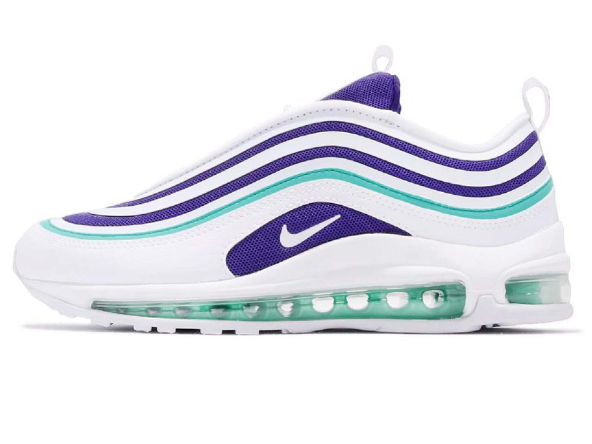 Nike Air Max 97 Ultra 白紫葡萄子弹