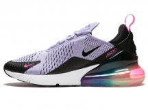 Nike Air Max 270 Be Ture 彩虹大气垫跑步鞋