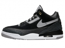 Air Jordan 3 Tinker Low AJ3黑白手稿3M反光 特价