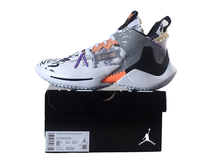 Air JORDAN Why Not Zer0.2 SE PF威少2代实战篮球鞋