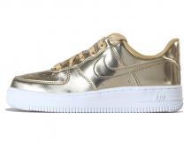 NIKE AIR FORCE 1 SP 液态金属玫瑰金板鞋