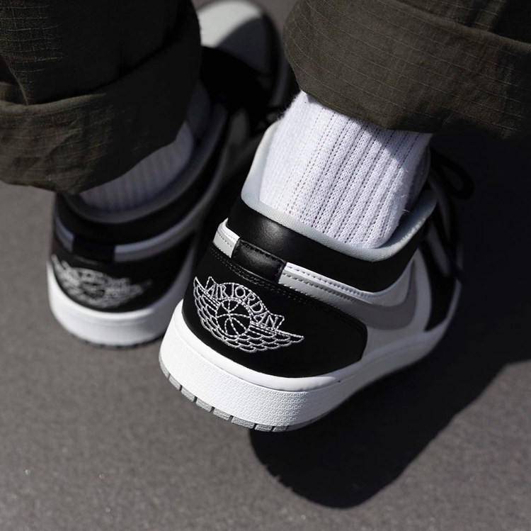 Air Jordan 1 Low Shadow AJ1酷灰 黑灰影子低帮