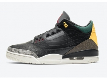 "Air Jordan3 AJ3 SE ""Animal Pack""动物园 豹纹虎纹"